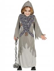 Grijs geketend spook kostuum voor kinderen
