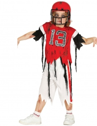 Zombie American Football kostuum voor jongens