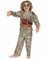Mummie zombie kostuum voor jongens