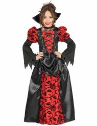 Vampier edelvrouw kostuum voor meisjes