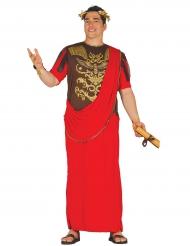 Rood Romeins centurion kostuum voor mannen