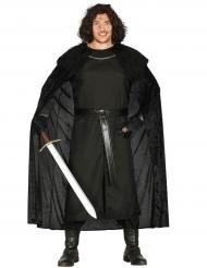 Ridder van de nacht kostuum voor mannen