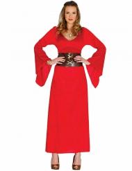 Rode koningin kostuum voor vrouwen