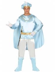 Turquoise prins kostuum voor mannen