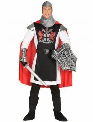 Driekleurig ridder meester kostuum voor mannen