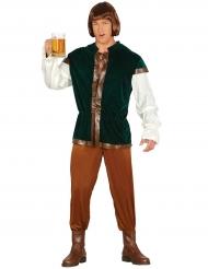 Groen herbergier kostuum voor mannen
