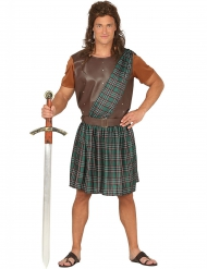 Groene Schotse outfit voor mannen