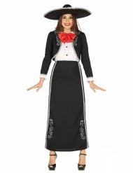 Lang Mexicaans kostuum voor vrouwen