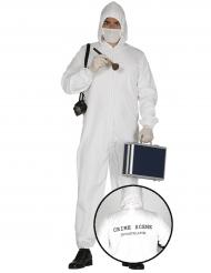 Kostuum misdaadonderzoeker voor volwassenen