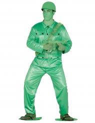 Speelgoedsoldaatje kostuum voor volwassenen