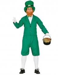 Groen leprechaun kostuum voor mannen