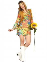 Kleurig hippie kostuum voor vrouwen