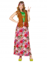 Happy hippie kostuum voor dames