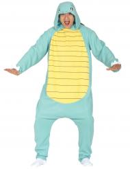 Klein schildpad monster kostuum voor volwassenen