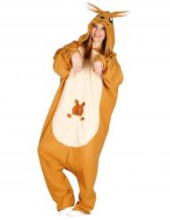 Kangoeroe pak kostuum voor volwassenen