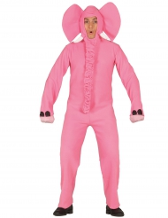 Roze olifanten kostuum voor volwassenen