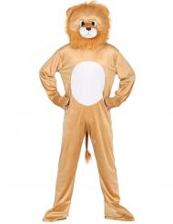 Leeuwen mascotte kostuum voor volwassenen