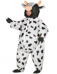 Opblaasbaar koeien kostuum voor volwassenen