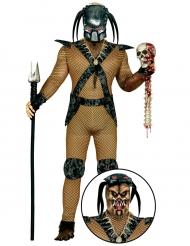 Ruimtejager monster kostuum voor volwassenen