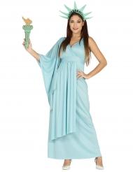 Vrijheidsbeeld kostuum voor vrouwen