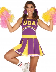 USA cheerleader kostuum voor dames