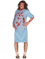 Zwangere zombie kostuum voor volwassenen