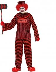Psychopatische clown kostuum voor volwassenen