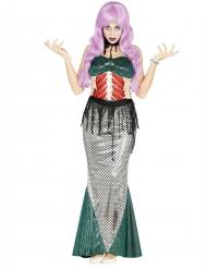 Zeemeermin zombie kostuum voor vrouwen