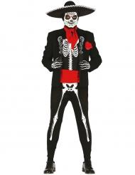 Mexicaanse skelet kostuum voor mannen