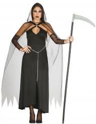 Sexy zwarte reaper kostuum voor vrouwen