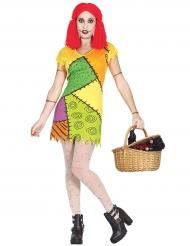 Lappenpop kostuum voor dames