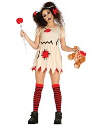 Voodoo pop kostuum voor volwassenen