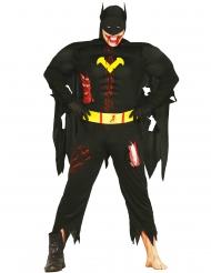 Zombie vleermuis superheld kostuum voor volwassenen