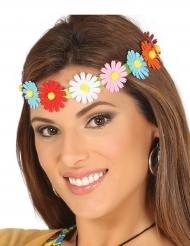 Gekleurde bloemen hoofdband voor volwassenen
