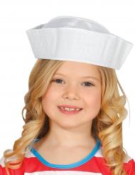 Witte matrozenhoed voor kinderen