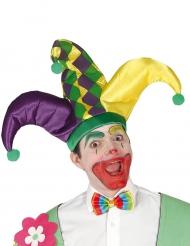 Harlekijn hoed voor volwassenen