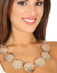 Romeinse medaillons halsketting voor volwassenen