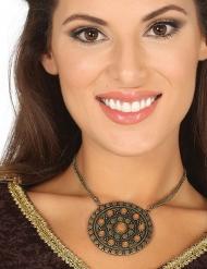 Romeinse medaillon halsketting voor volwassenen