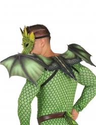 Groene drakenvleugels