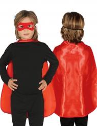 Rode superhelden cape voor kinderen