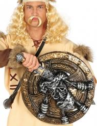 Viking skelet zwaard en schild