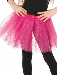 Roze tutu met glitters voor meisjes