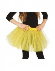 Groene tutu met glitters voor meisjes