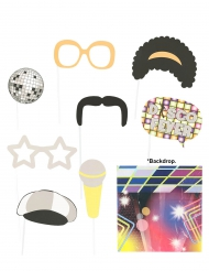 Disco photobooth set