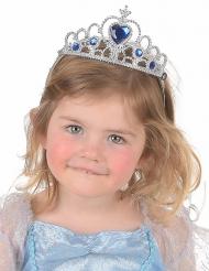Blauw en zilverkleurige tiara voor kinderen