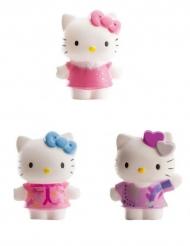 3 Hello Kitty™ figuurtjes 7 cm