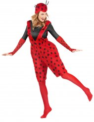 Lieveheersbeestje tuinbroek kostuum voor volwassenen