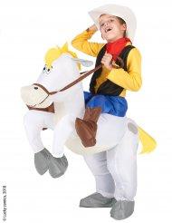 Lucky Luke™ op Jolly Jumper kostuum voor kinderen