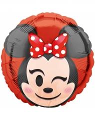 Aluminium ballon Minnie Mouse™ Emoji™
