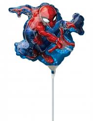 Spiderman™ ballon op stokje